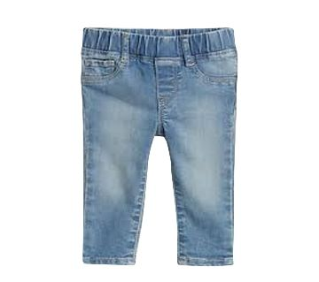 Denim Elastic Waist Jeans for kids