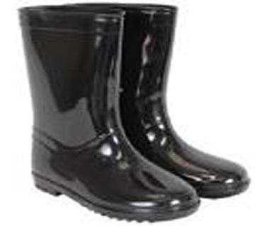 Waterproof Gum Boot - Black
