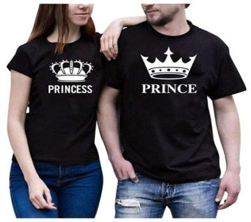 couple pack 2 pc combo Slim fit Half sleeve t-shirt.