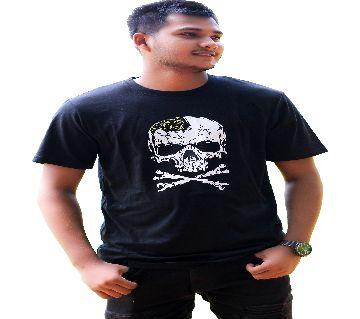 Unique Skull Design For Mens Cotton t-shirt