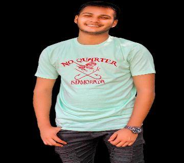 Unique No Quarter Design For Mens Cotton t-shirt