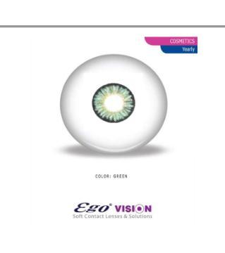 ego Green colour contact lense