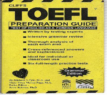 Cliffs TOEFL