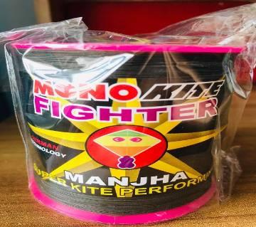 No-1, indian Mono Kite fighter manjha kite fighter Manjha thread for kite/ ghuri suto manjha rope, rock,fabric manjha suta thread 3000 Gaz