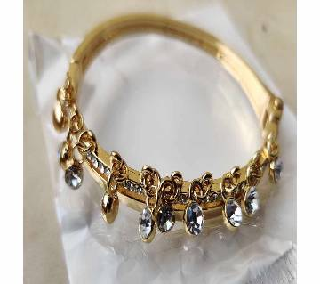 Golden and white colours Stone, metal beatiful Bracelet for Women/lady hater churi