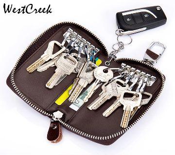 Key holdder bag 100% leather