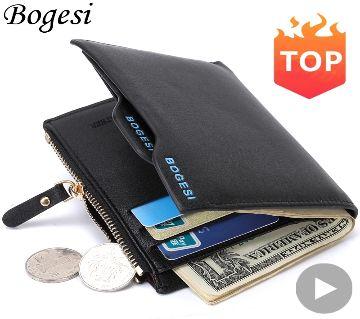 Bogesi leather wallet for man