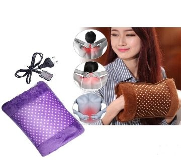 Electric Hot Water Bag pain remover - Multicolour