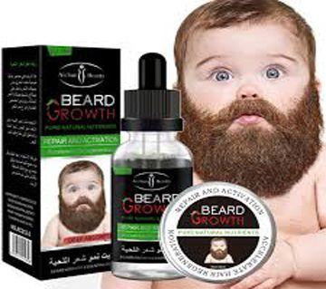 Natural Organic Beard Growth Oil for Men - 30ml(Dubai)
