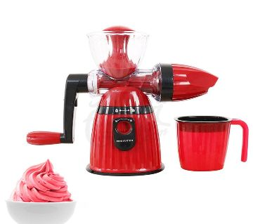 Orginal MEILEYI 2 IN 1 JUICER & ICE CREAM MAKER