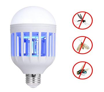 High Mosquito Killing Lamp with LED light - White