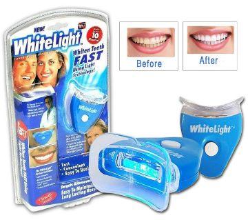 White Light Teeth Gel Whitening System Kit Tooth Cleaner