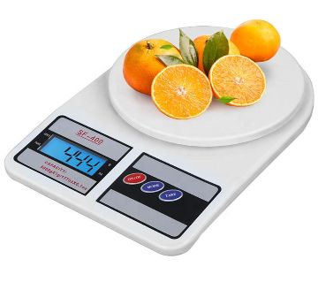 SF- 400 Electronic Kitchen Scale, Digital LCD Display, 10 kg 10,000g