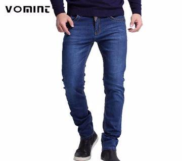 Denim pant for men-navy blue