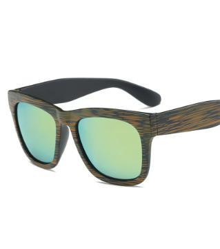 Wood Color Sunglass
