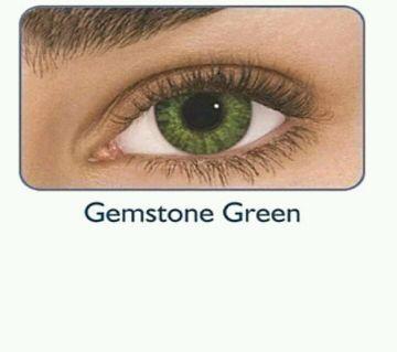 Freshlook gemstone green contact lens (original) full set