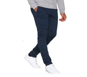 GENTS TWILL COTTON GABARDINE PANT-NAVY BLUE