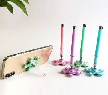 Colorful VIP Stand Pen with base (2 Pcs)