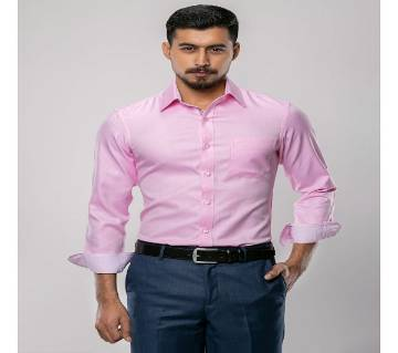 PINK FULL SLEEVE SHIRT FOR MEN