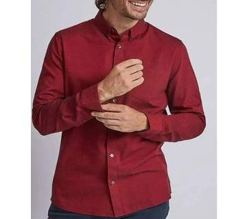 MAROON FULL SLEEVE SHIRT FOR MEN