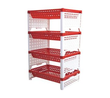Smart Rack - White & Red