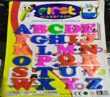 Magnetic alphabet letter for kids