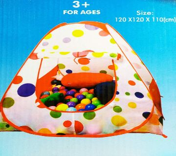 Baby Fun Play Ball Set WITH TENT (Size 120*120*110* CM)  RM-017