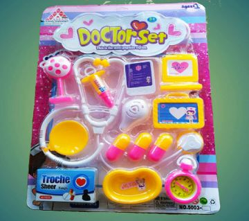 Plastic Toy Doctor Set for kids