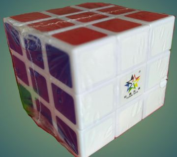 Magic Cube Set of 3x3x3 Cube Smooth Puzzle Cube- Red, Green, White, Blue, Yellow and Orange