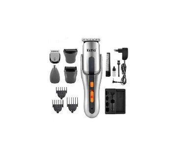 Kemei KM 680A 8 in 1 Rechargeable Trimmer
