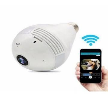 Panoramic light bulb wifi camera 360degree