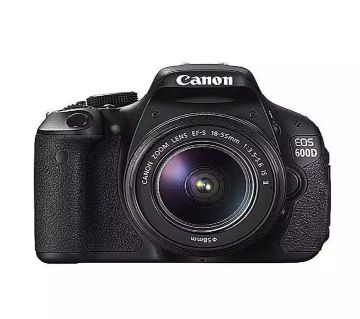 EOS 600D Digital DSLR Camera With 18-55 mm f/3.5-5.6 IS II Lens