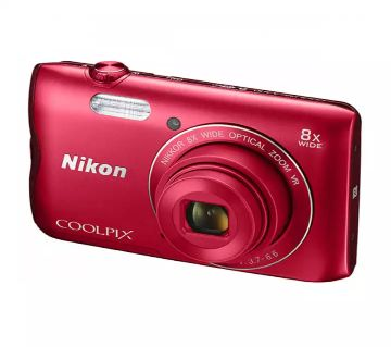 Nikon A300 COOLPIX 20.1MP Digital Camera Wifi, NFC