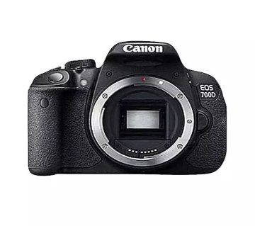 EOS 700D 18MP Digital SLR Camera with 18-55mm - Black
