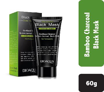 BIOAQUA Bamboo Charcoal Black Peel Off Mask - 60g-china