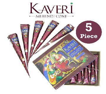 Kaveri Mehndi/Mehedi Cone 5Pcs-india