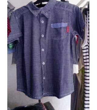 Boys Denim Chambray Shirt