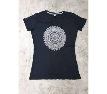 Ladies T-shirt - Black & White