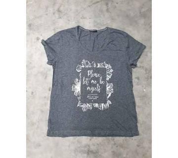 Myself Ladies T-shirt