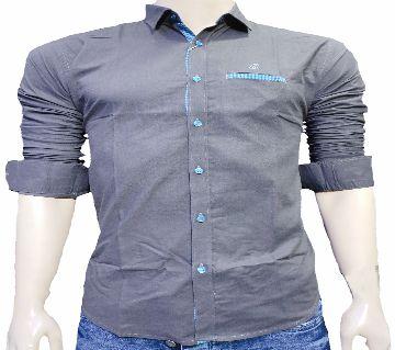 full sleeve casual shirt for men-light purple