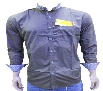 Ben Collar full sleeve casual shirt for men -purple