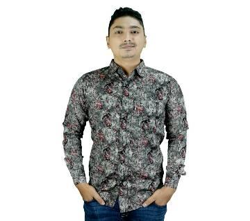 Cotton Mix Slim Fit Shirt for Men
