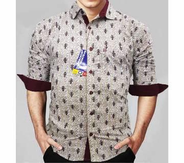 Indian I C Cotton Slim Fit Shirt for Men
