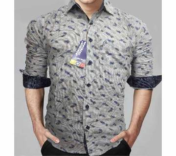 I C Cotton Slim Fit Shirt for Men