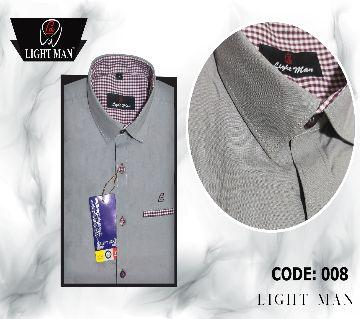I C Cotton Design Slim Fit Shirt for Men