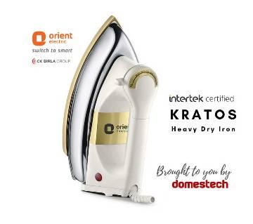 ORIENT Dry Iron KRATOS 1000 watts
