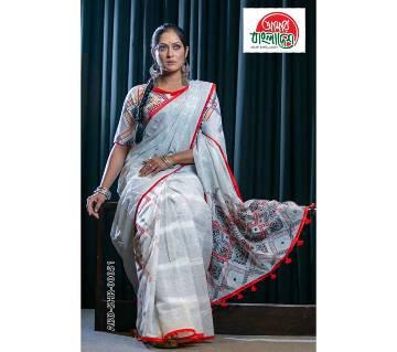 Amar Bangladesh Sharee ABD-SHR-00051 (Rang Bangladesh)