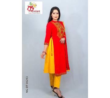 Rang Bangladesh Stitched Dress-NG-DT-00293