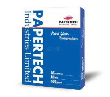 A4 Paper 80 gsm Papertech 5 ream