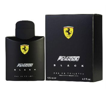 Ferrari Black perfume-125ml-ITALY